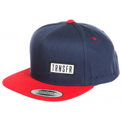 Кепка TRANSFER Classic Snapback Navy/Red